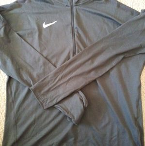 Ladies 1/4 zip shirt